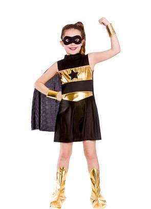 Black Superhero Girl Costume