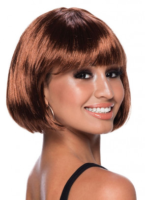 Elegant Bob Wig Brown
