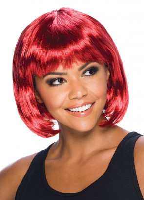 Elegant Bob Wig Passion Red