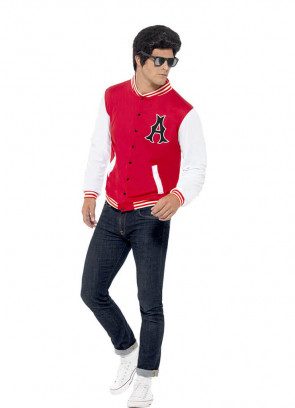 1950's College Jock (Letterman Jacket) Costume