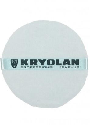 Kryolan Professional Powder Puff Blue (10cm)