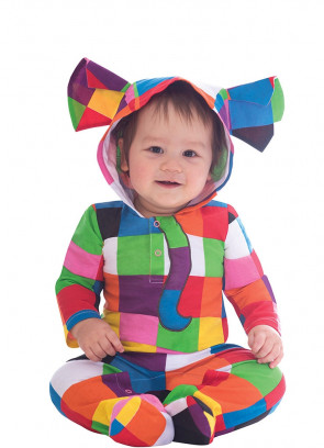 Elmer the Elephant Onesie