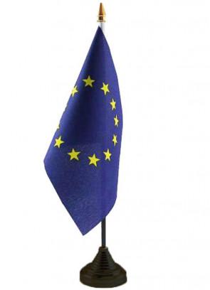 "European Union Table Flag 6"" x 4"""