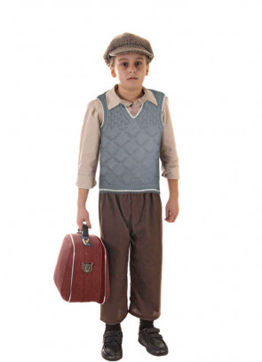 WWII Evacuee Boy (Tank Top) Costume