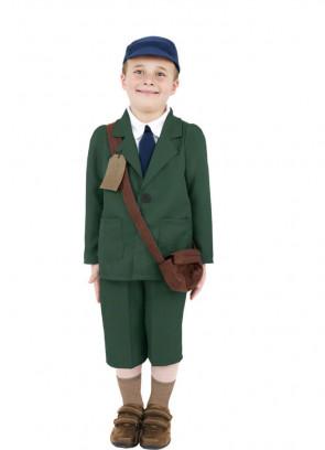 WWII Evacuee Boy (Green) Costume