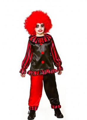 Evil Horror Clown Costume
