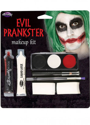 Evil Prankster Make-up Kit - Joker