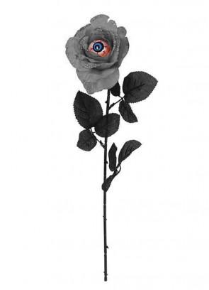 Eyeball Rose - Assorted Black or Grey