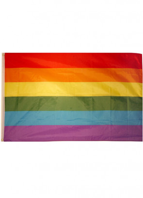 Pride Rainbow Flag (Nylon) 5x3