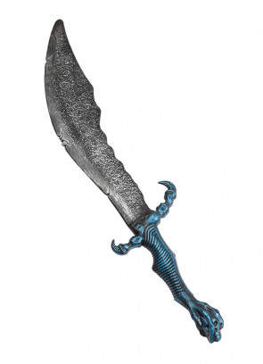 Blue Handle Fantasy Sword - 62cm