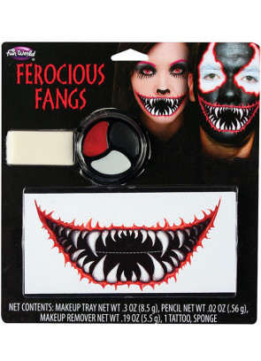 Ferocious Fangs Make-up Kit