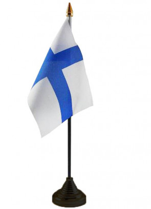 """Finland Table Flag 6"""" x 4"""""""