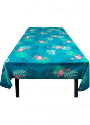 Tropical Pink Flamingo Table-Cover 130 x 180cm