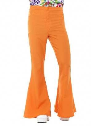 Flared Trousers – Men - Orange