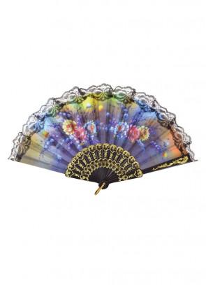 Floral Lace Fan