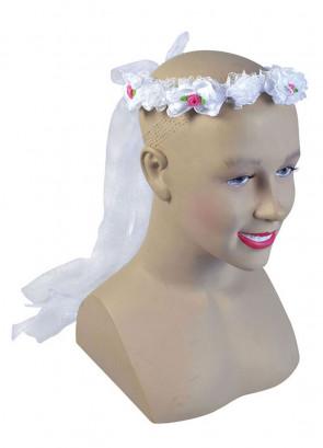 Flower Headband & Veil