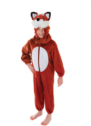 Fox Plush Jumpsuit