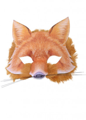 Fox Mask (Realistic Fur)