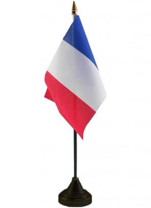 """France Table Flag 6"""" x 4"""""""