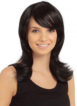 Black Francesca Wig - Styleable