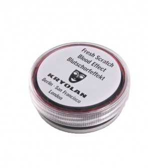 Kryolan Fresh Scratch Blood Dark 15ml (Deep Wound Effect)