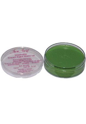 Kryolan Fun Faze Face Paint 15ml Green Tub