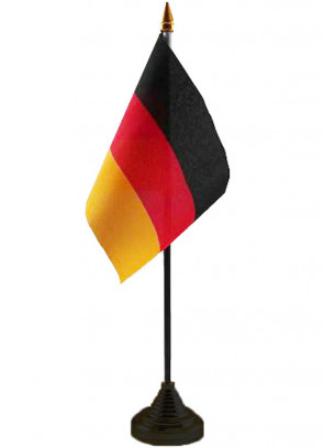 "Germany Table Flag 6"" x 4"""