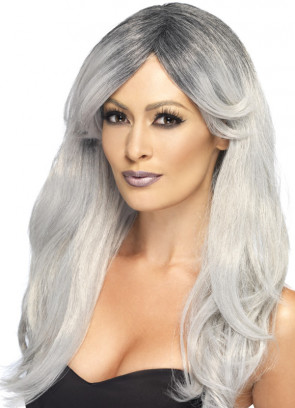 Grey Ghostly Glamour Wig