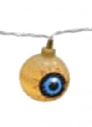 Giant Flashing Eyeballs LED String Lights - 10 LED Lights 2.8m