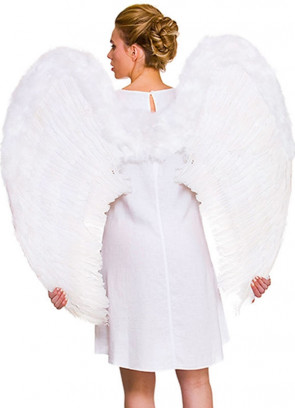 Angel Wings White (Giant) 95cm x 95cm