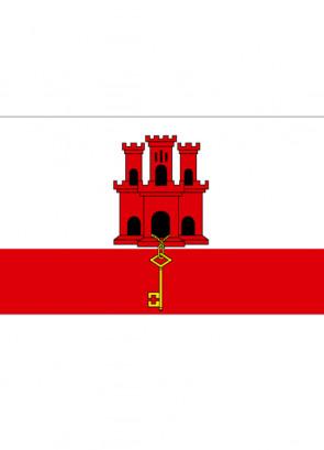 Gibraltar Flag 5x3