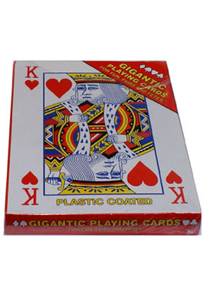 Gigantic A4 Playing Cards - Storybook Accessory