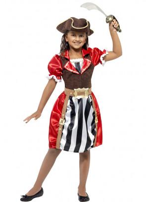 Pirate Captain (Girls) Costume