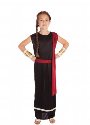 Roman Goddess (Black) Costume