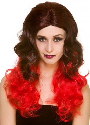 Glam Vamp - Red Wig
