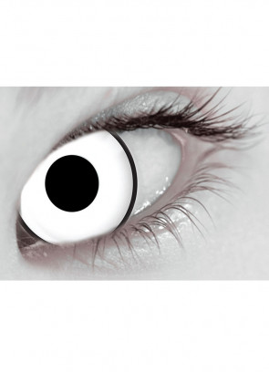 Glass White UV Contact Lenses - 30 Day Wear