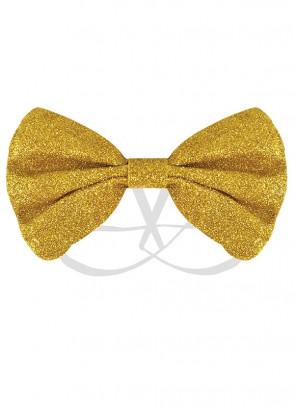 Gold Glitter Bow-Tie