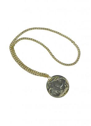 Gold Coin Medallion