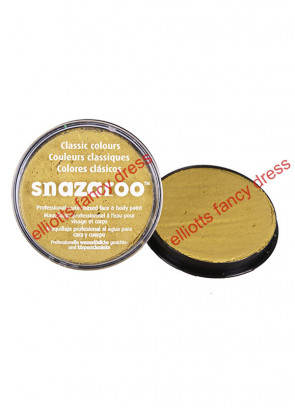 Snazaroo Gold Metallic Face Paint 18ml