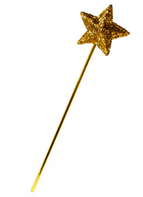 Wand Sequin Star (Gold)