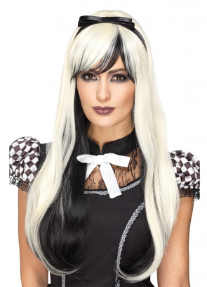 Deluxe Gothic Alice Blonde / Black Wig – Styleable