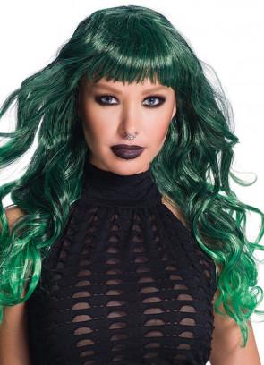 Temptress Green Wig