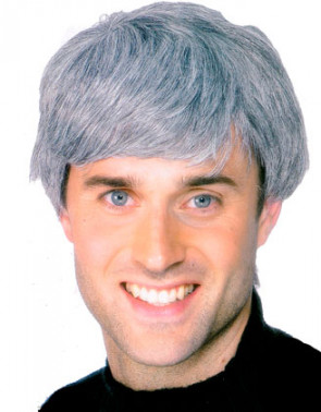 Corporate Wig - Grey - Father Ted