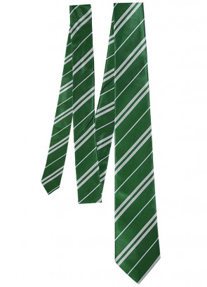 Green Wizard-School Tie