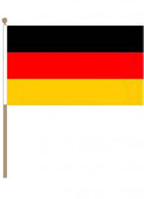 "Germany Hand Flag 18"" x 12"""