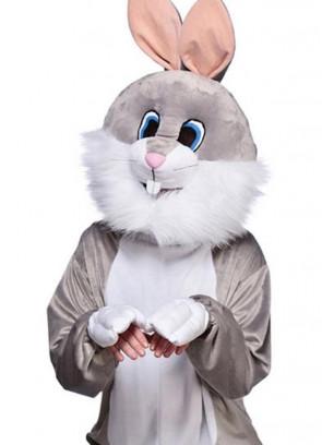 Grey Bunny Rabbit Mascot