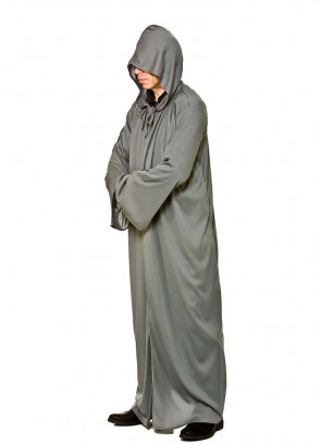 Adults Grey Hooded Cloak - Fellowship