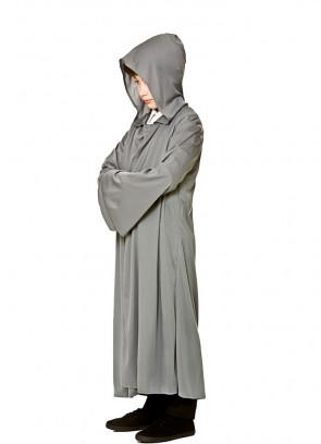 Fellowship Hooded Robe - Grey Kids