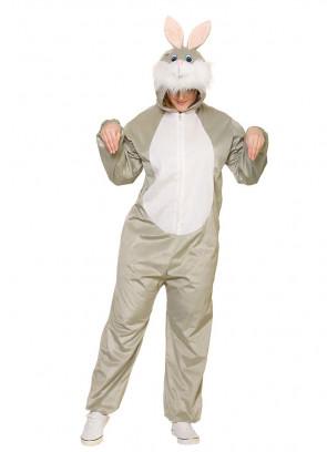 Bunny Onesie Costume - Adult
