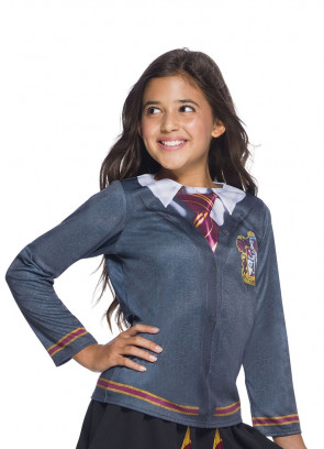 Gryffindor Costume Top - Girls - Harry Potter